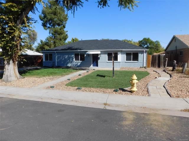 954 Revere Street, Aurora, CO 80011 (#5340590) :: Bring Home Denver with Keller Williams Downtown Realty LLC