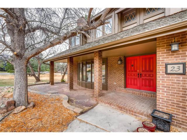 23 N Ranch Road, Littleton, CO 80127 (MLS #5747236) :: 8z Real Estate