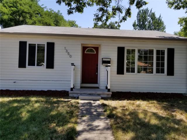 1350 Verbena Street, Denver, CO 80220 (MLS #5990367) :: 8z Real Estate