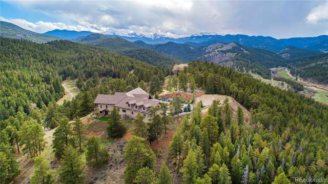 577 Bear Meadow Trail, Evergreen, CO 80439 (#6835719) :: Finch & Gable Real Estate Co.