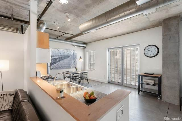 1610 Little Raven Street #214, Denver, CO 80202 (#7705961) :: Bring Home Denver with Keller Williams Downtown Realty LLC