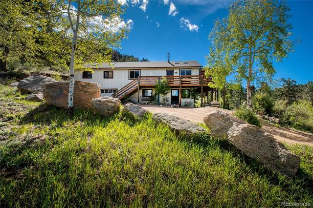 13976 Wamblee Trail, Conifer, CO 80433 (#8881649) :: The DeGrood Team