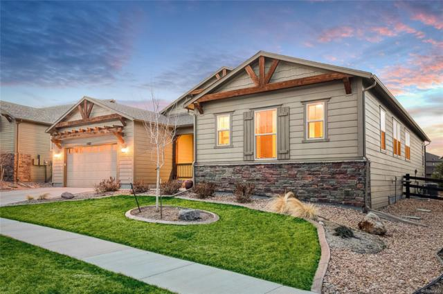 14615 Saddlebred Avenue, Parker, CO 80134 (#6760933) :: The Healey Group