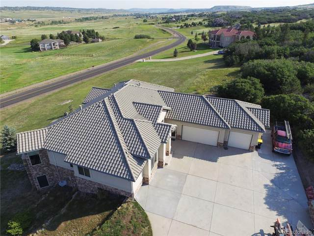 3936 Bell Mountain Drive, Castle Rock, CO 80104 (MLS #7666185) :: Clare Day with Keller Williams Advantage Realty LLC