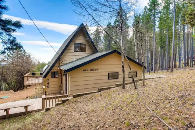 240 Deer Road, Evergreen, CO 80439 (MLS #7995056) :: 8z Real Estate
