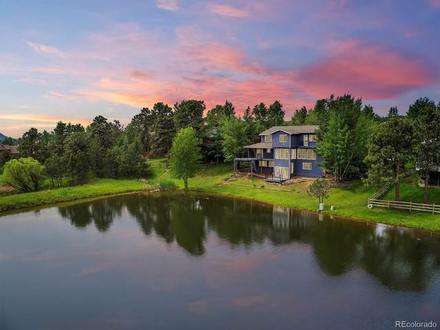 31517 Broadmoor Drive, Evergreen, CO 80439 (#8786076) :: Bring Home Denver with Keller Williams Downtown Realty LLC