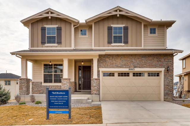 6063 E 143rd Drive, Thornton, CO 80602 (#9667781) :: Bring Home Denver with Keller Williams Downtown Realty LLC