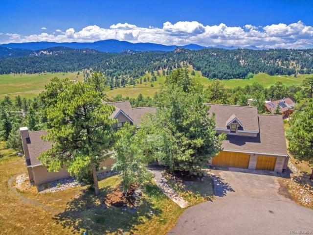 23922 Caldwell Court, Evergreen, CO 80439 (#4596451) :: House Hunters Colorado