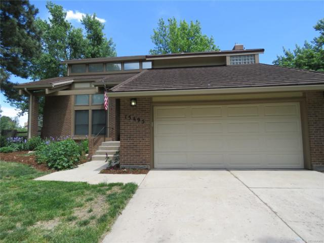 15495 E Monmouth Place, Aurora, CO 80015 (MLS #8372429) :: Kittle Real Estate