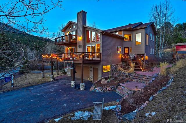 4230 S Meadow Brook Lane, Evergreen, CO 80439 (MLS #3275783) :: The Sam Biller Home Team