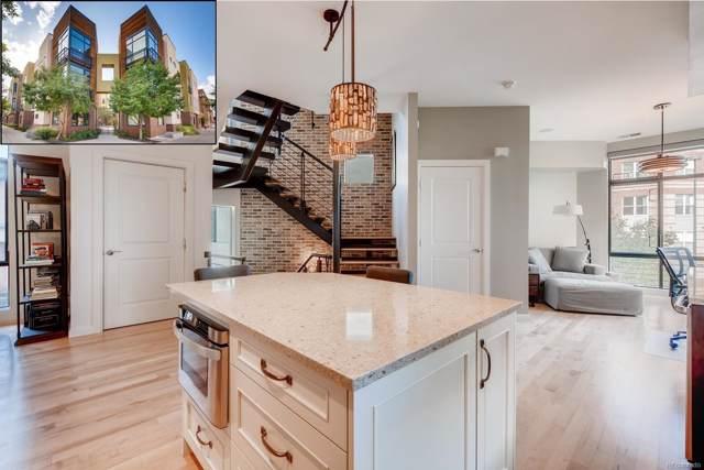2335 Walnut Street #12, Denver, CO 80205 (#6528097) :: Bring Home Denver with Keller Williams Downtown Realty LLC