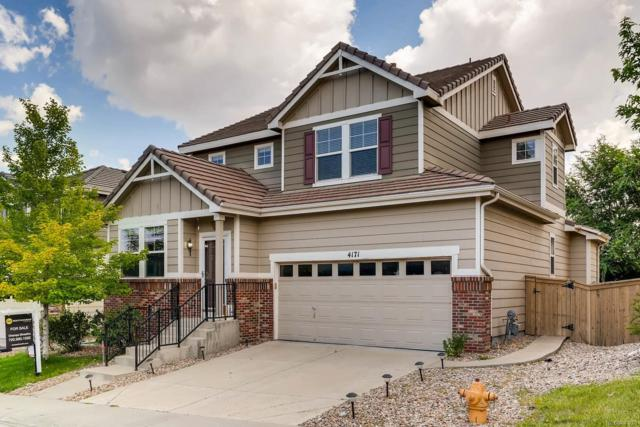 4171 Aspenmeadow Circle, Highlands Ranch, CO 80130 (#3457622) :: The DeGrood Team