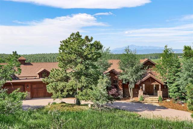 4409 Triple Eagle Trail, Larkspur, CO 80118 (#7966945) :: The Healey Group