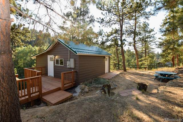 4972 Little Cub Creek Road, Evergreen, CO 80439 (MLS #8774646) :: 8z Real Estate