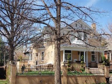 541 High Street, Denver, CO 80218 (#1153478) :: The Peak Properties Group