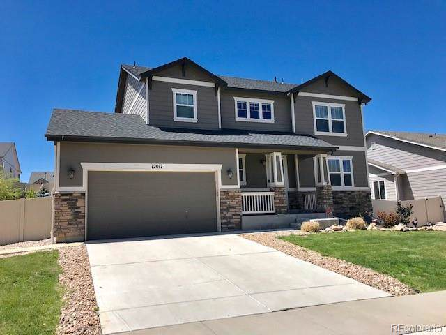 12017 Triple Crown Drive, Parker, CO 80134 (#1719256) :: The Heyl Group at Keller Williams