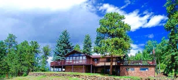 13716 Wamblee Trail, Conifer, CO 80433 (#1823197) :: Wisdom Real Estate