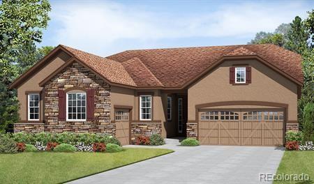 2570 Hillcroft Lane, Castle Rock, CO 80104 (#2109623) :: The Griffith Home Team