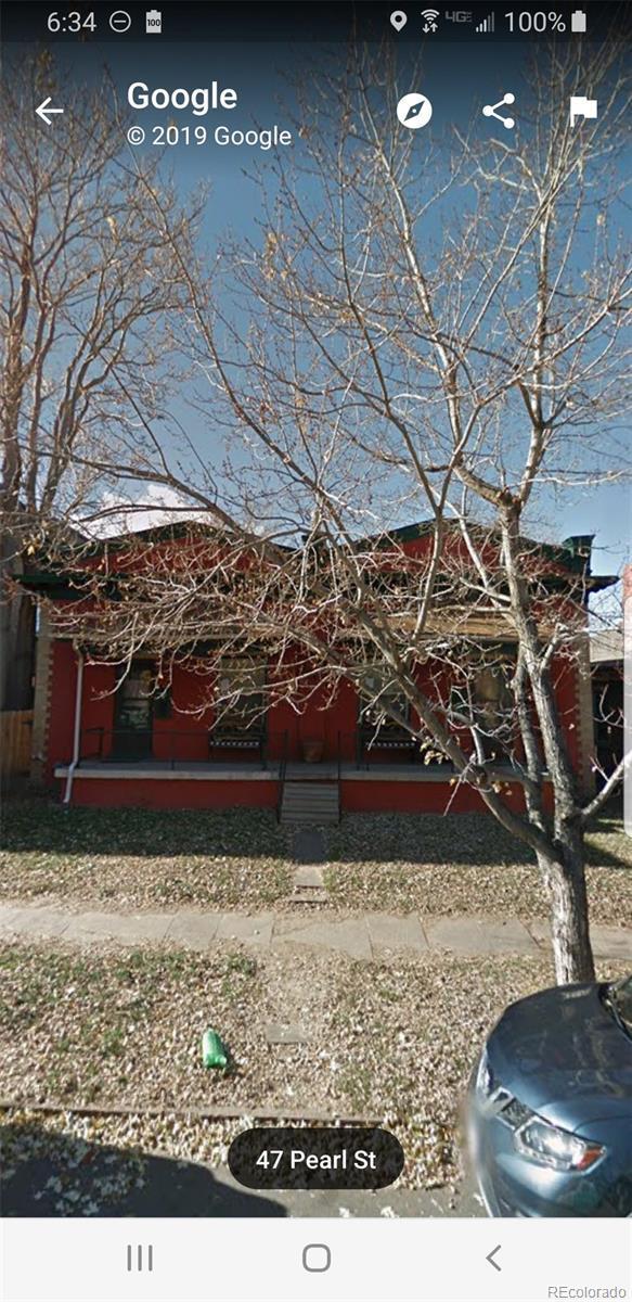 47 Pearl Street, Denver, CO 80203 (#2115516) :: The Galo Garrido Group