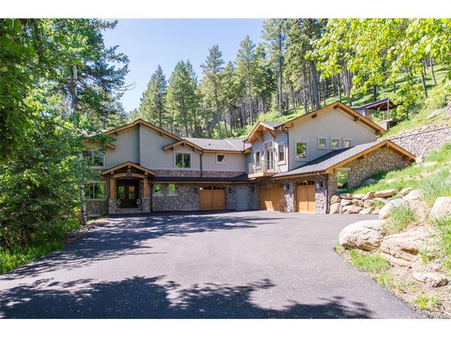 45 W Ranch Trail, Morrison, CO 80465 (MLS #2317044) :: 8z Real Estate