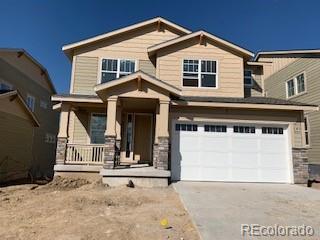 3328 Jonquil Street, Castle Rock, CO 80109 (#2425157) :: The HomeSmiths Team - Keller Williams