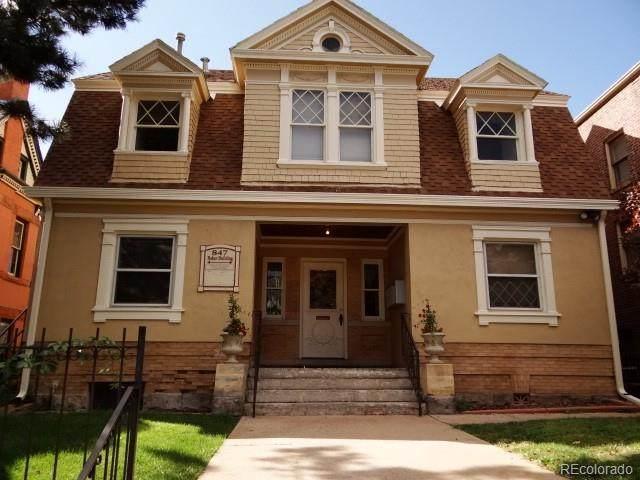 847 N Sherman Street, Denver, CO 80203 (#2574762) :: HomeSmart