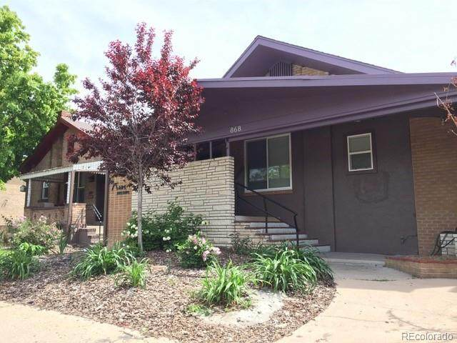 868 S Pearl Street, Denver, CO 80209 (#2608916) :: Sultan Newman Group