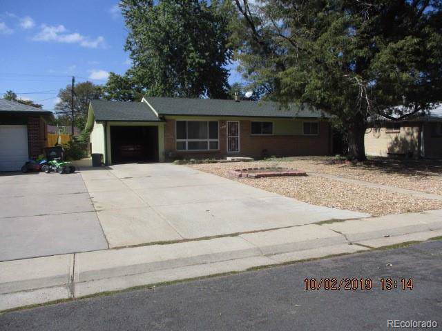 3151 Revere Street, Aurora, CO 80011 (#3195786) :: The Peak Properties Group