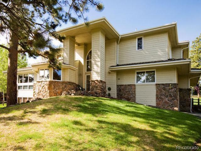 2417 Hearth Drive, Evergreen, CO 80439 (#3366255) :: Compass Colorado Realty