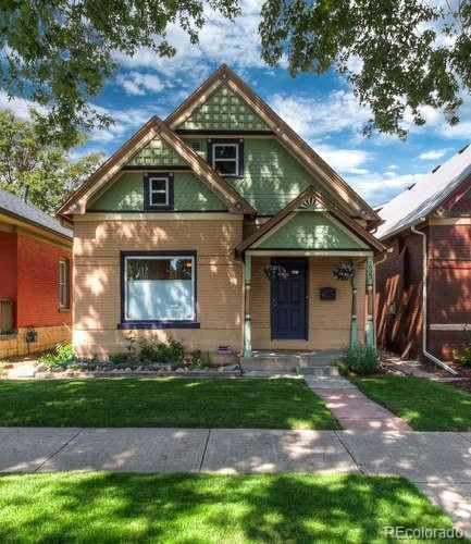 2923 N Humboldt Street, Denver, CO 80205 (#3498434) :: The Healey Group