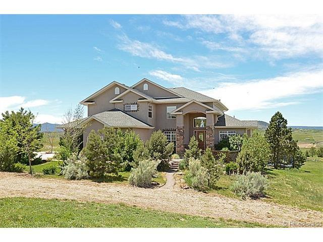 3532 Bell Mountain Drive, Castle Rock, CO 80104 (#3763710) :: Sellstate Realty Pros