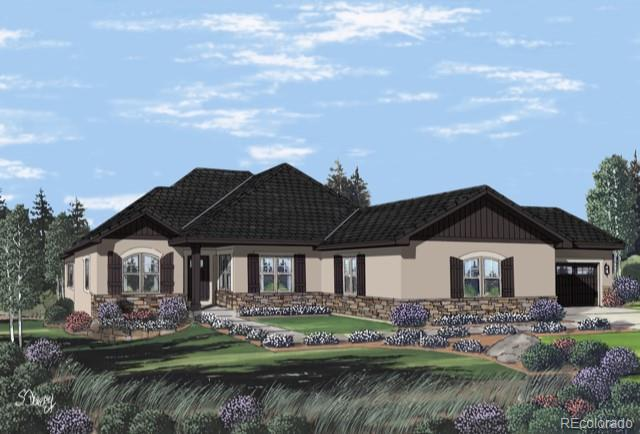 5422 Country Club Drive, Larkspur, CO 80118 (#3894703) :: The Peak Properties Group
