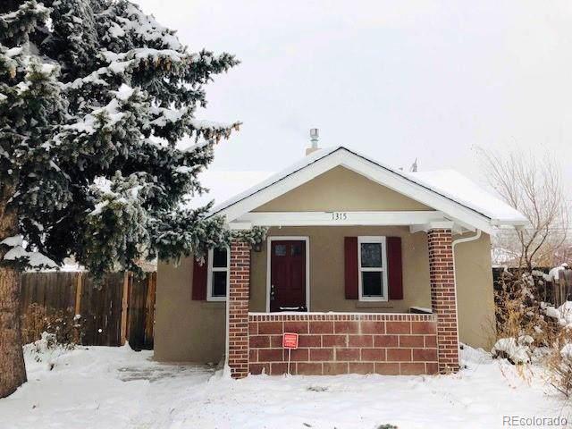 1315 Tamarac Street, Denver, CO 80220 (MLS #4056747) :: 8z Real Estate