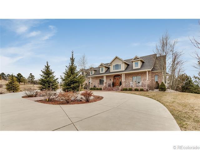 5943 Saddle Creek Trail, Parker, CO 80134 (MLS #4066510) :: 8z Real Estate