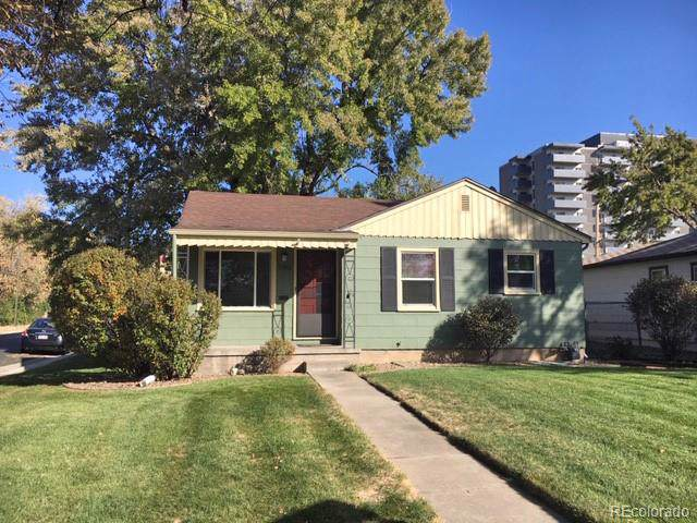 1702 S Garfield Street, Denver, CO 80210 (#4205368) :: The Heyl Group at Keller Williams