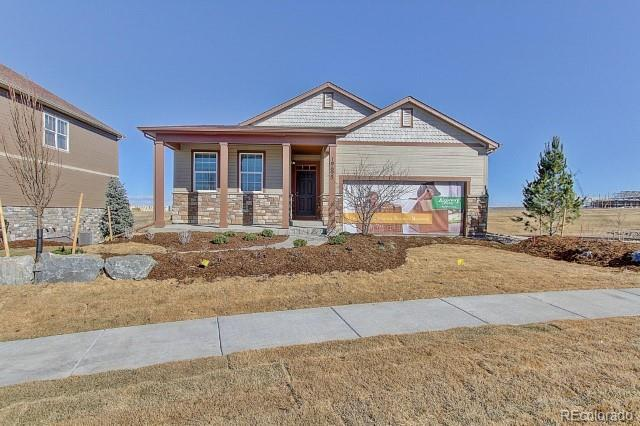 19695 E 64th Drive, Aurora, CO 80019 (#4410243) :: The Peak Properties Group