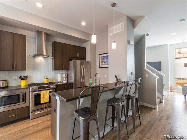 2721 W 24th Avenue #105, Denver, CO 80211 (MLS #4436486) :: Bliss Realty Group