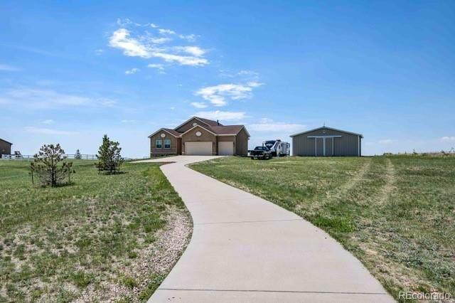 12150 Oregon Wagon Trail, Elbert, CO 80106 (MLS #4443162) :: 8z Real Estate