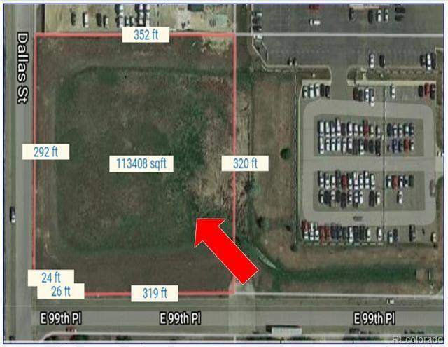 Corner Of 99th Pl And Dallas St, Commerce City, CO 80640 (MLS #4444343) :: 8z Real Estate