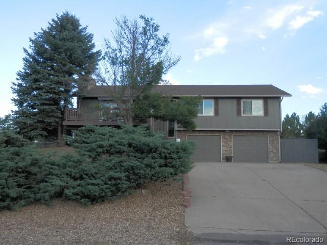 6839 Hillside Way, Parker, CO 80134 (#4538072) :: The Peak Properties Group