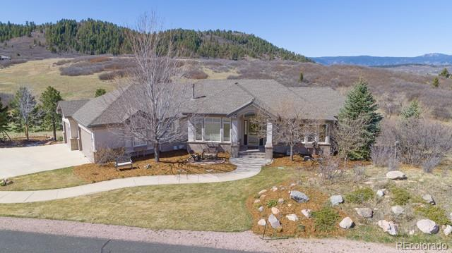4618 High Spring Road, Castle Rock, CO 80104 (#4611241) :: The Griffith Home Team