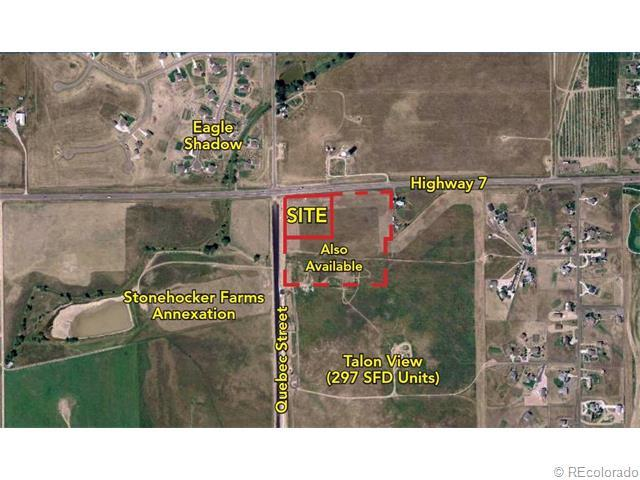 Section Of Highway 7 And Quebec Street, Thornton, CO 80602 (MLS #4742245) :: 8z Real Estate
