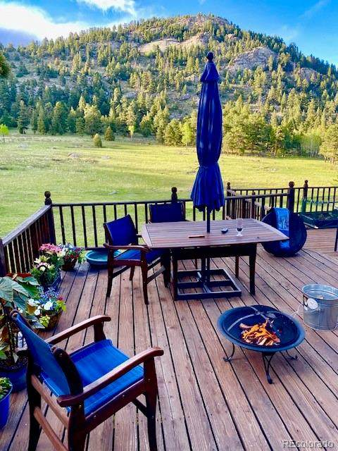 4899 Buffalo Creek Drive, Evergreen, CO 80439 (#5055517) :: The Colorado Foothills Team | Berkshire Hathaway Elevated Living Real Estate