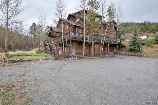 599 Soda Creek Road, Idaho Springs, CO 80452 (#5112759) :: The Griffith Home Team