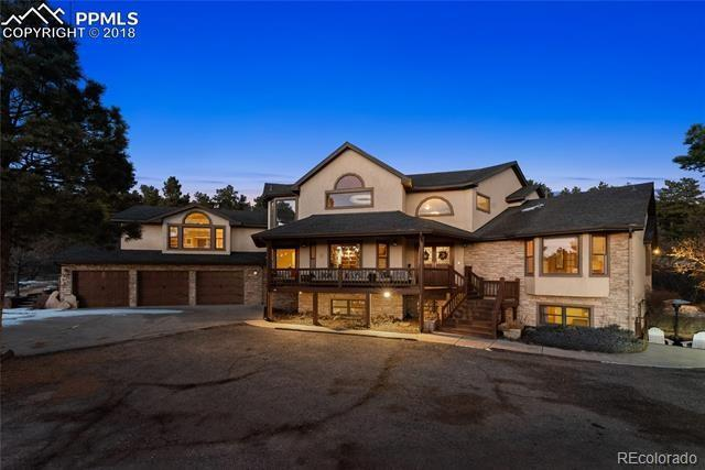1320 Rangely Drive, Colorado Springs, CO 80921 (MLS #5274421) :: Kittle Real Estate