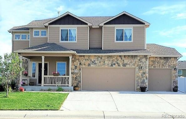 838 Park Edge Circle, Windsor, CO 80550 (#5587573) :: The DeGrood Team