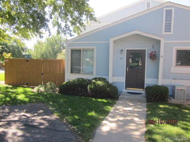 7971 Chase Circle #49, Arvada, CO 80003 (#5773767) :: The Griffith Home Team