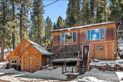 4601 Forest Hill Road, Evergreen, CO 80439 (#5905679) :: The DeGrood Team
