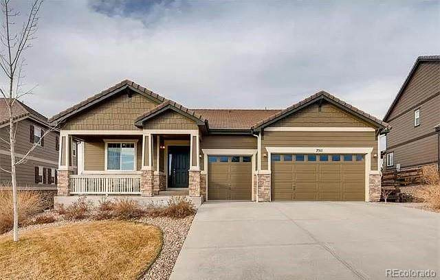 7511 S Jackson Gap Way, Aurora, CO 80016 (#5977882) :: The Healey Group