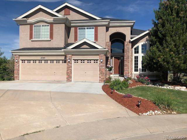 12345 Montano Way, Castle Pines, CO 80108 (MLS #6056519) :: 8z Real Estate